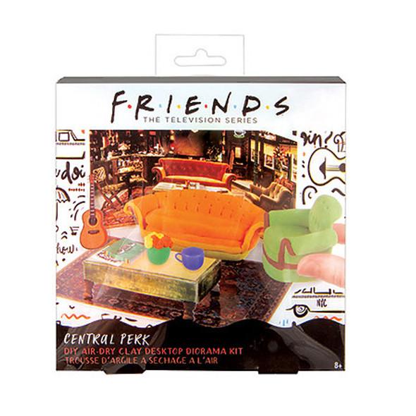 Friends Central Perk DIY Air Dry Clay Desktop Diorama Kit