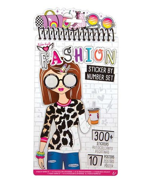 Fashion Sticker by Number Set
