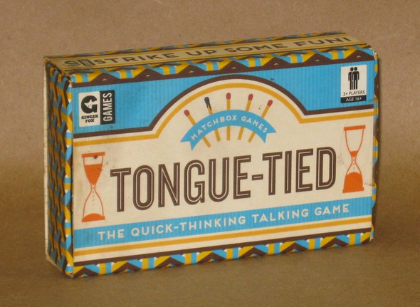 Tongue-Tied Matchbox Game