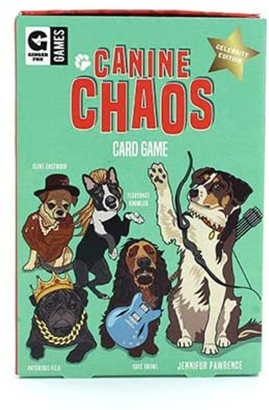 Canine Chaos Card Game Celebrity Edition