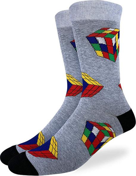 Rubik's Cube Socks Size 7-12