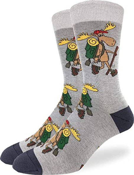 Hiking Moose Socks Size 7-12