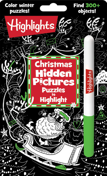 Christmas Hidden Picture Puzzles to Highlight