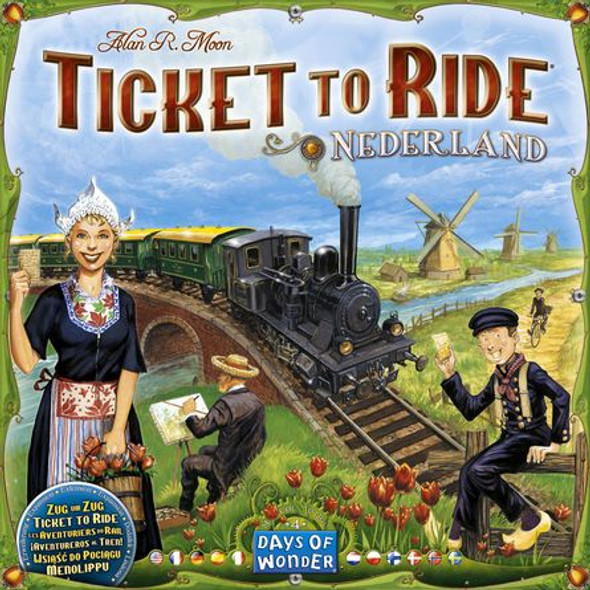 Ticket to Ride Nederland Expansion