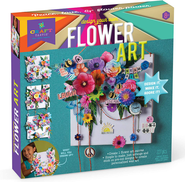 Design Your Own Flower Art