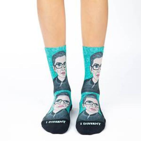 Ruth Bader Ginsburg socks