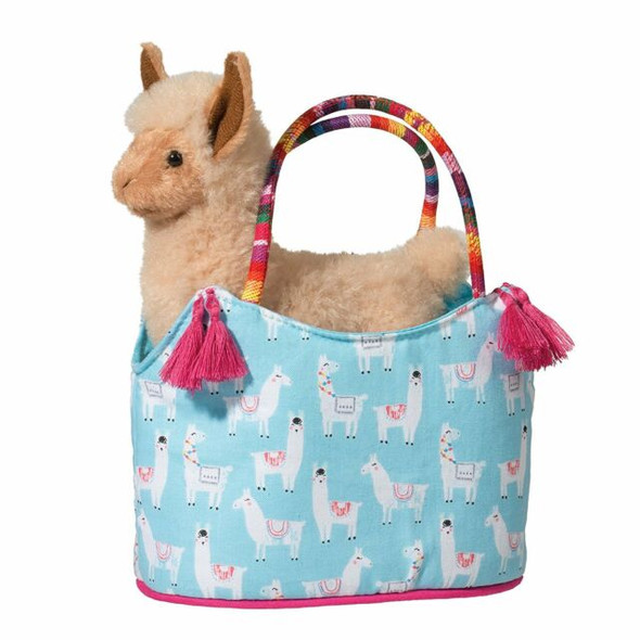 Llama with Fiesta Bag Plush