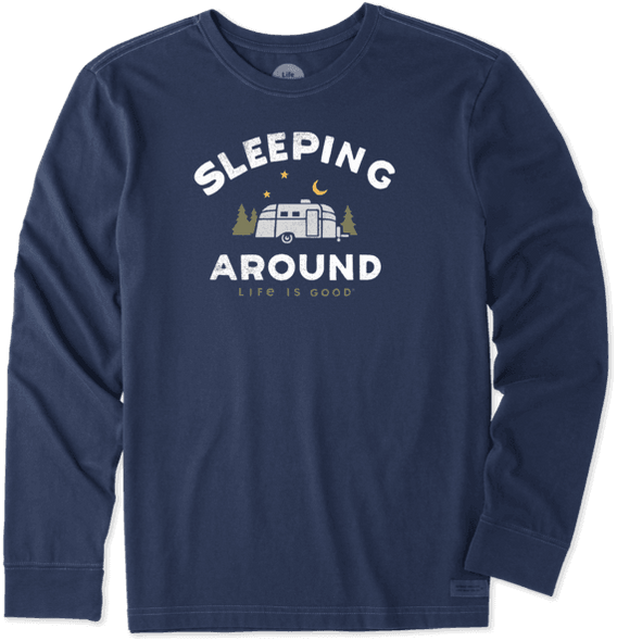 Sleeping Around Camper LS tee