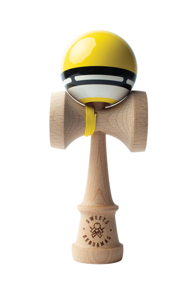 Yellow Boost Radar Kendama