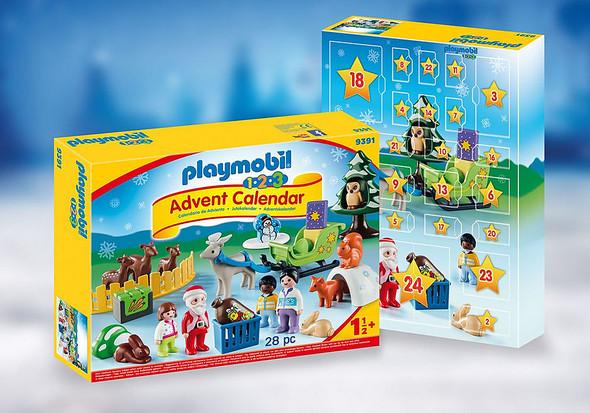 1-2-3 Advent Calendar for Kids