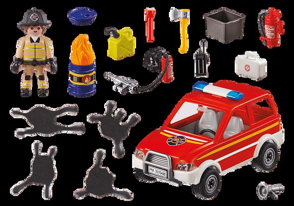 City Fire Emergency