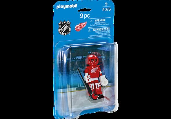 Red Wings Hockey Goalie