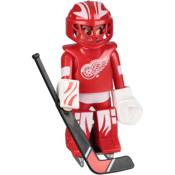 Red Wings Hockey Goalie