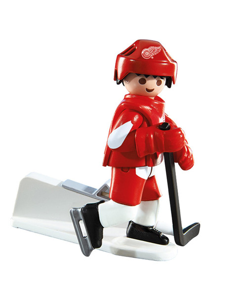 Red Wings Hockey Player