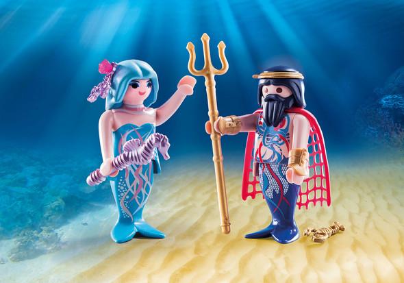 Sea King and Mermaid