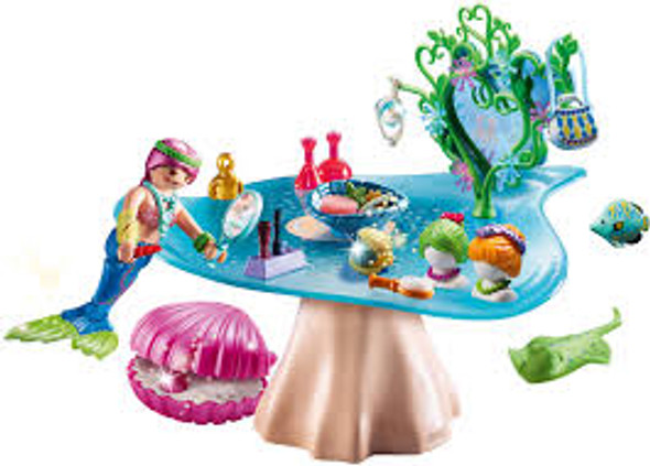 Mermaid Beauty Salon with Case