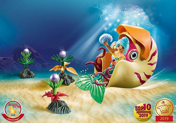 Mermaid Snail Gondola