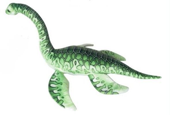 """Large Plesiousaur 33.5"""" dinosaur plush"""