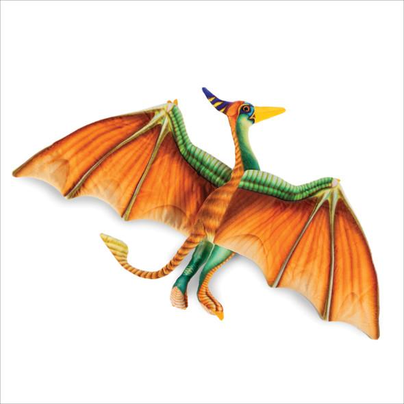 "Large Pterodactyl 33.5"" dinosaur plush"