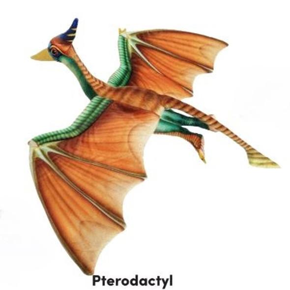 """Pterodactyl 23"""" dinosaur plush"""