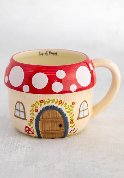 Mushroom House Mug