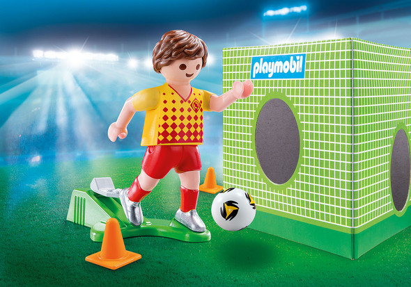 Soccer Player Figurine