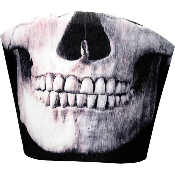 Washable Novelty Skull Mask - Adult Size