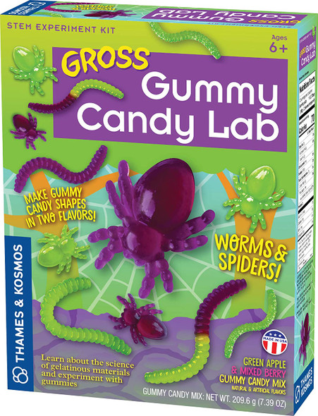 Gross Gummy Candy Lab STEM Experiment Kit