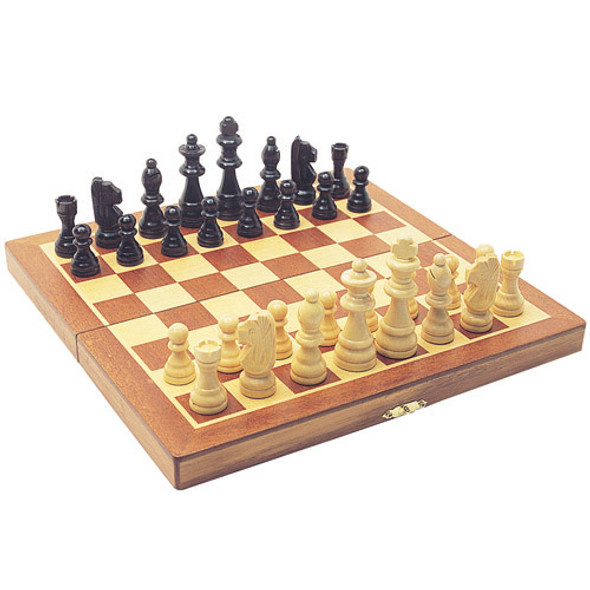 Folding Wooden Chess