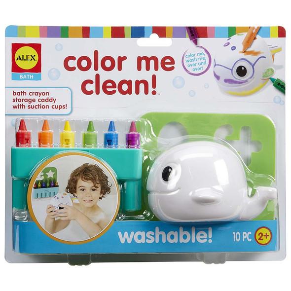 Color Me Clean Whale