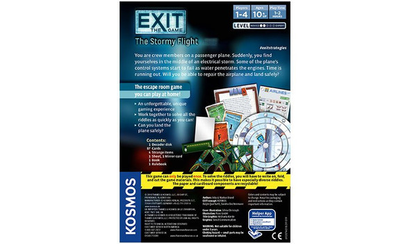 Exit: Stormy Flight Game