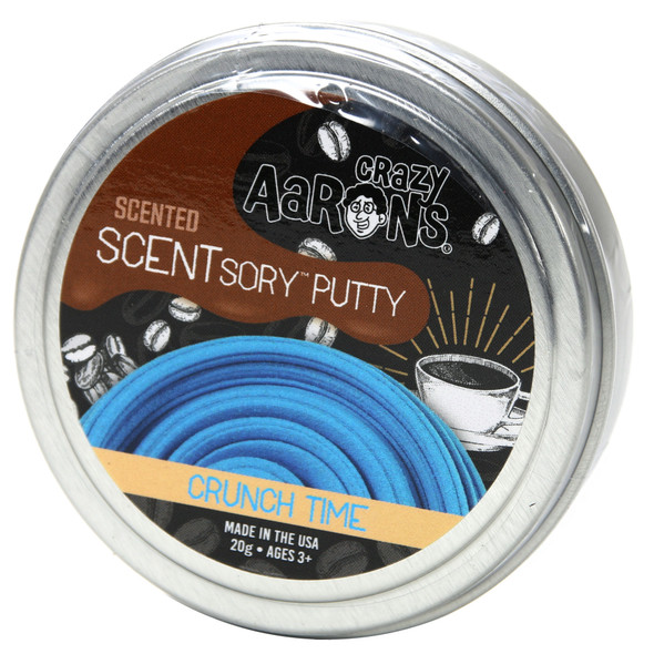 Crunch Time - Mocha Coffee SCENTsory Putty