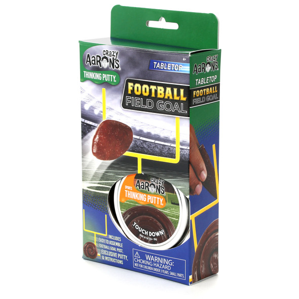 Touchdown! Football Field Goal Thinking Putty