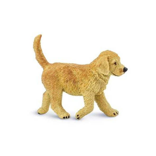 Golden Retriever Puppy Figurine