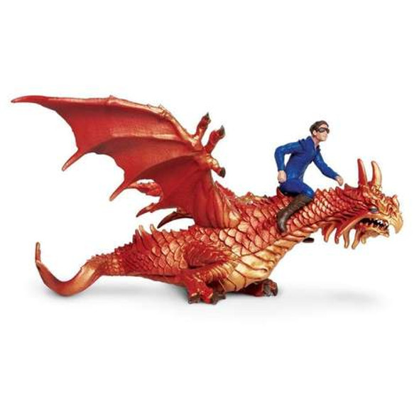 Thunder Dragon with Drake Figurine