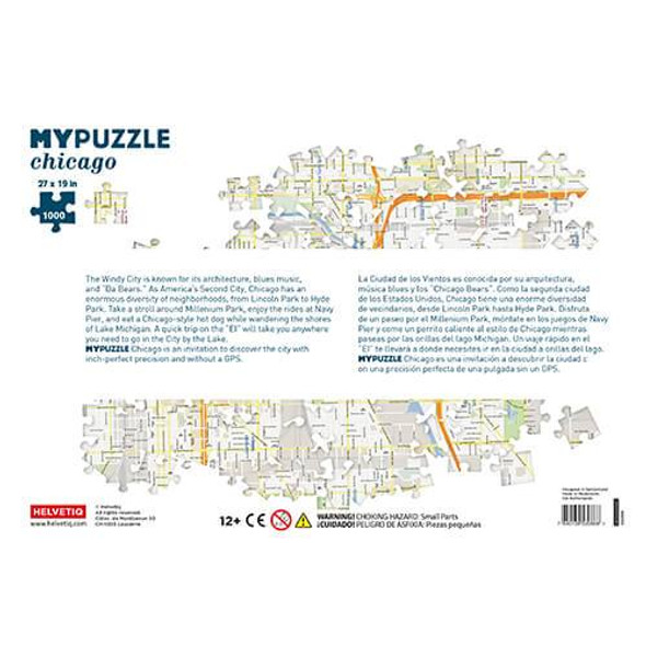 MyPuzzle Chicago 1000 pc.