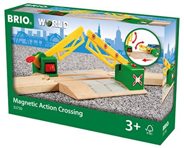 Magnetic Action Crossing