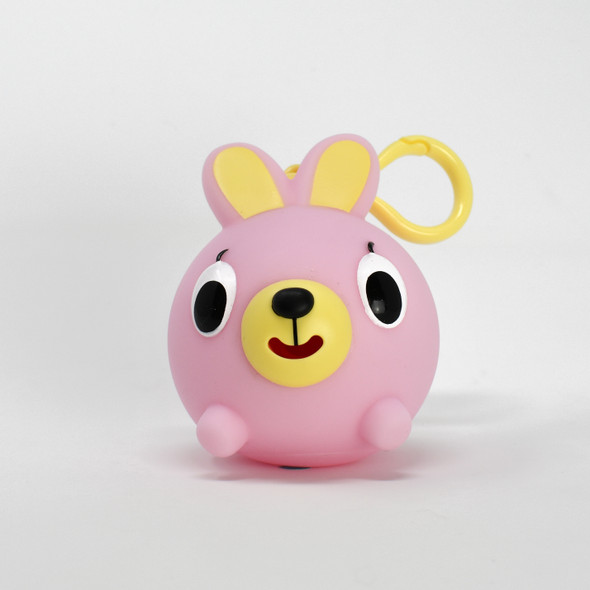 Jabber Ball Jr Pink Bunny