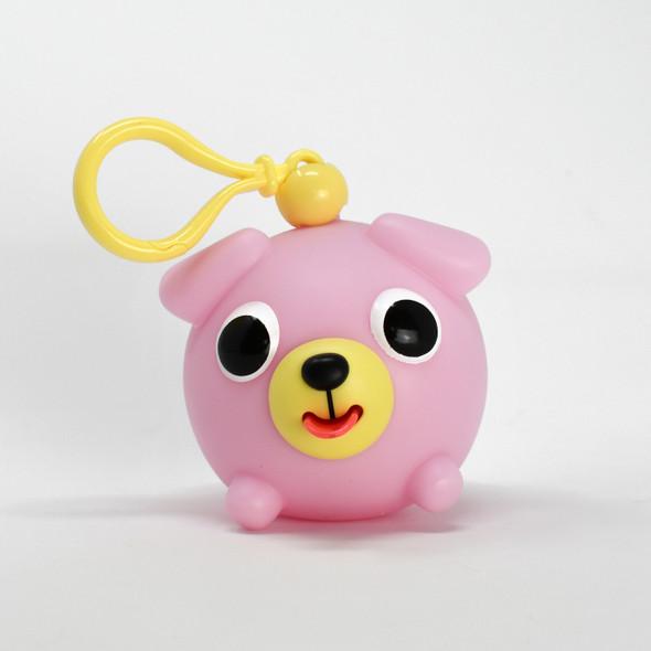 Jabber Ball Jr Pink Dog