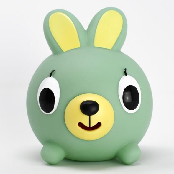 Jabber Ball Green Bunny
