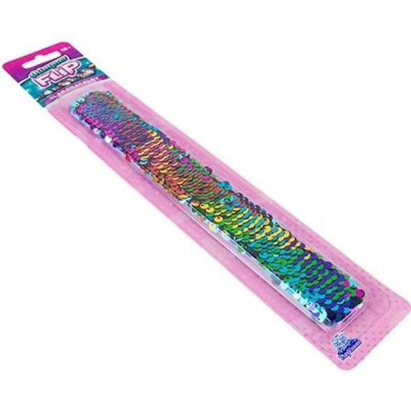 Shimmer Slap Bracelet