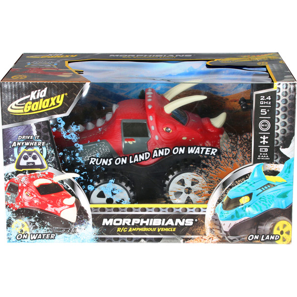 Dino Morphibians R/C Amphibious Vehicle