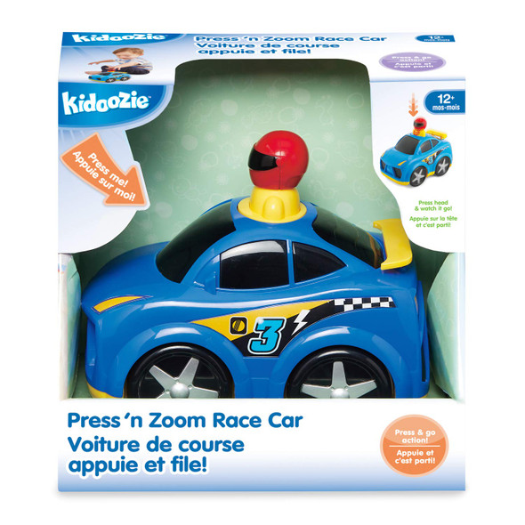Kidoozie Press 'n Zoom Racer