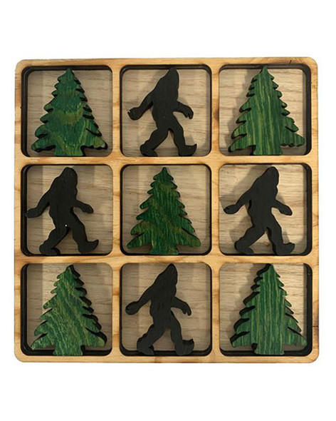 Bigfoot/Pinetree Tic-Tac-Toe