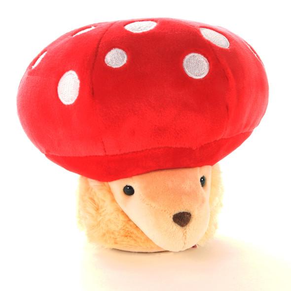 Plush Soft Hedgehog Mushroom