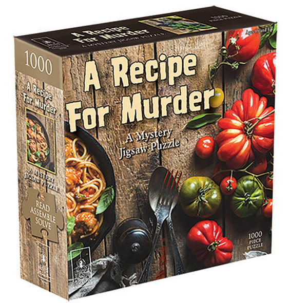 Recipe for Murder 1000 pc. Mystery Puzzle