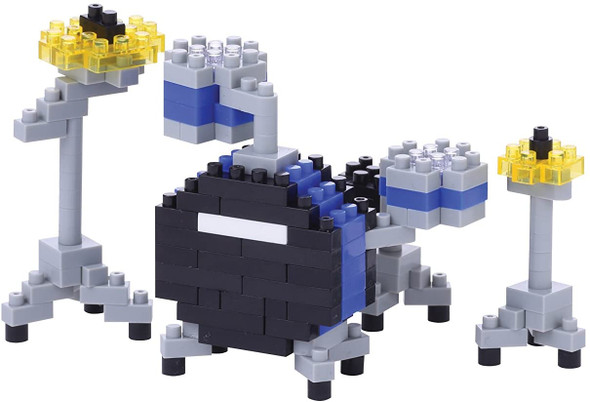 Blue Drum Set Nanoblocks
