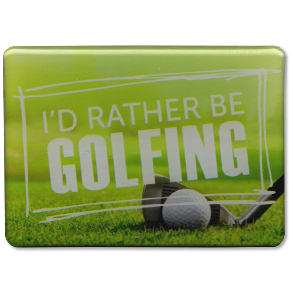 Rather Be Golfing Magnet