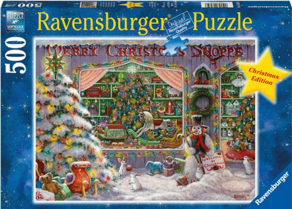 Christmas Shoppe 500 pc. Puzzle