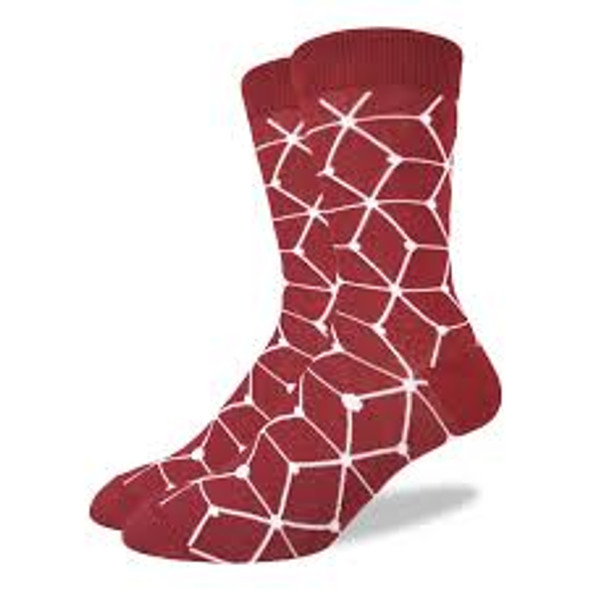 Red Matrix Socks